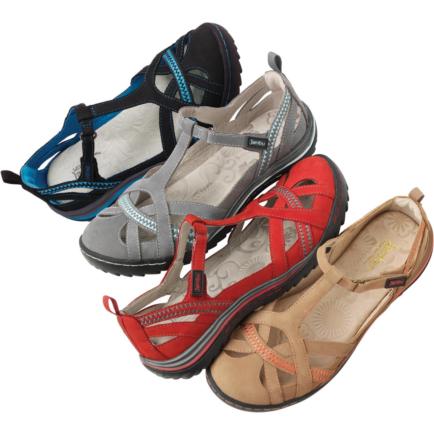 Jambu Charley Sandal gives you the function, durability and casual good looks to waltz through summer in complete comfort.