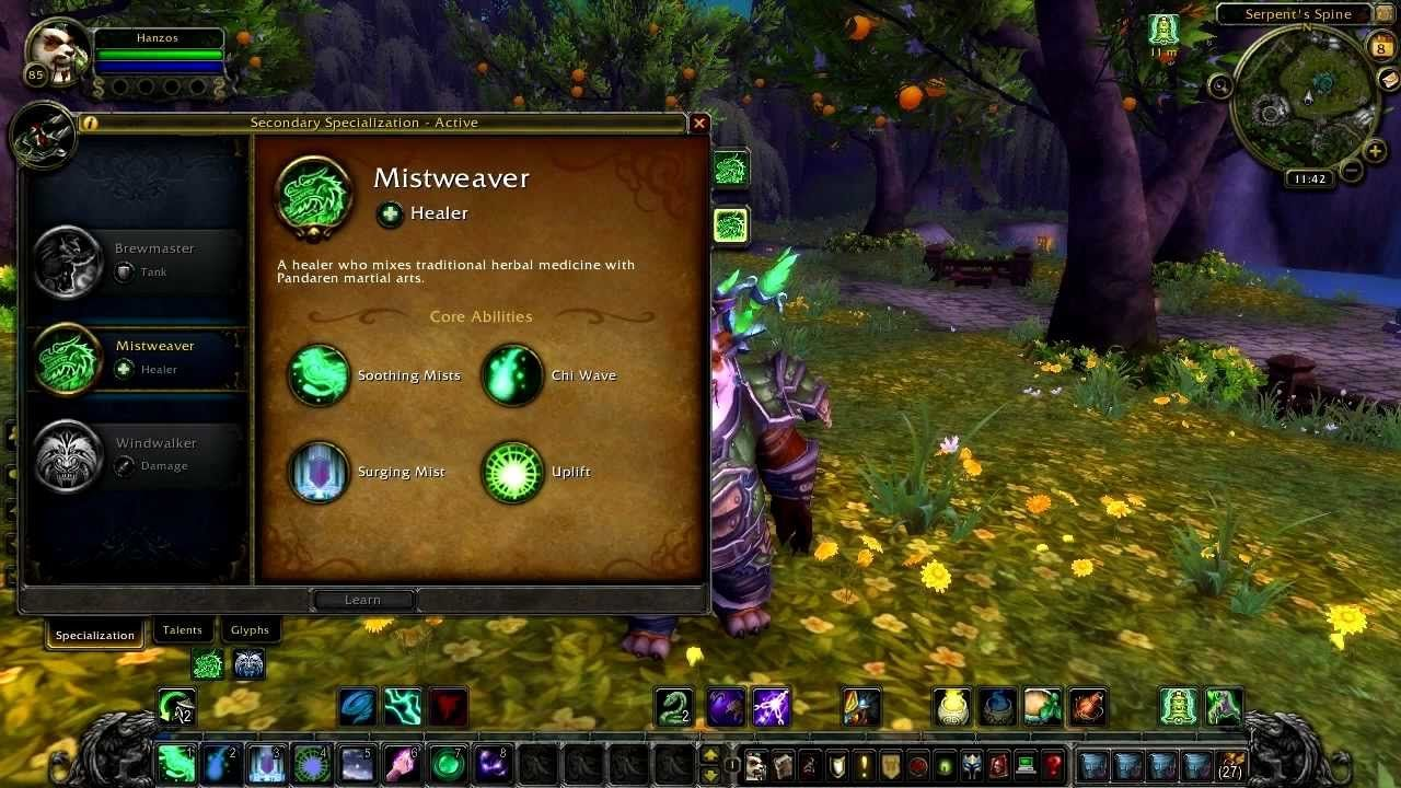 Wow Mists Of Pandaria Beta Mistweaver Monk Overview Healing Talent Build Spec Part 1 Wow Leveling Guide For All Wow P World Of Warcraft Warcraft Mists