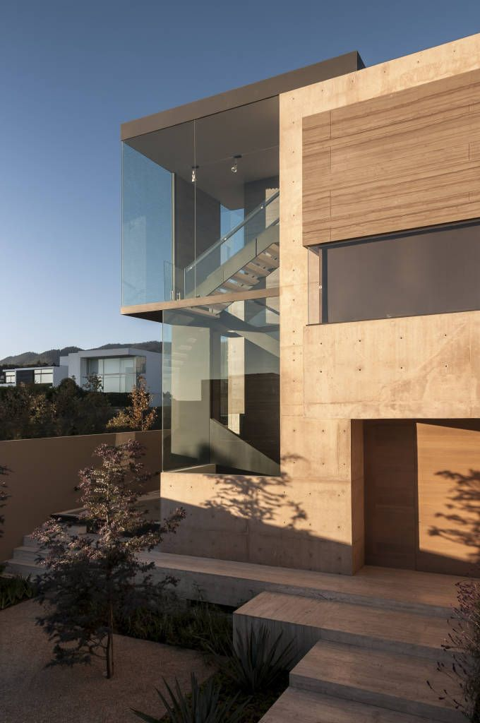 Casa ml pasillos y recibidores de estilo por gantous arquitectos en 2019 home casas - Recibidores de casas modernas ...
