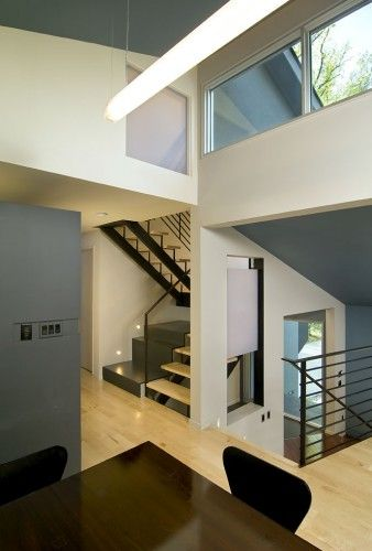 contemporary hall by KUBE architecture Dream Home Pinterest