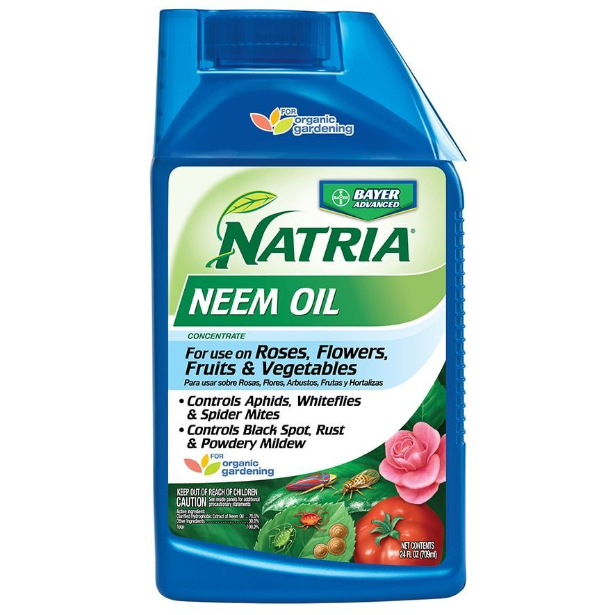 Bayer Advanced Neem Oil Concentrate Pest Control, 24-Ounce