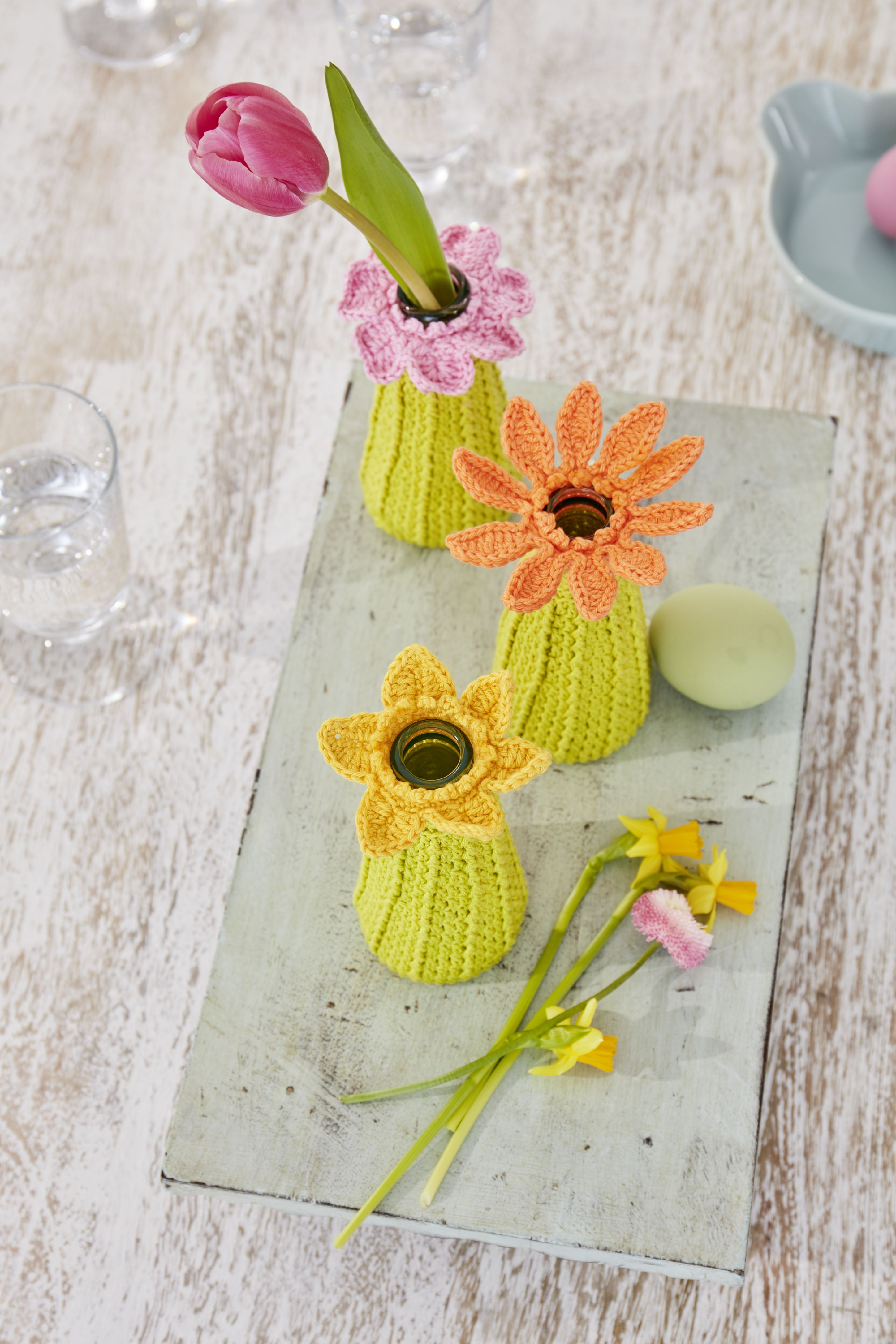 Ausgezeichnet Www Gehäkelten Blumen Frei Muster Galerie ...
