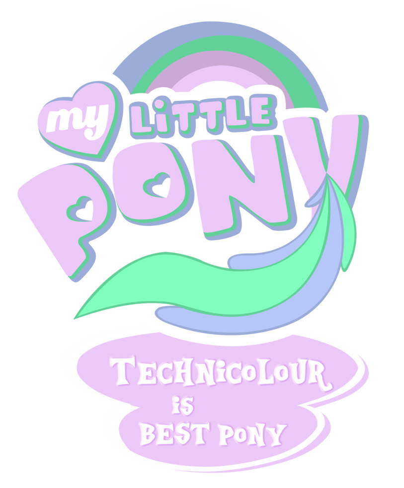 My Little Pony Bettwäsche Mlp Commission Technicolour Is Bestpony By Mlpblueray On