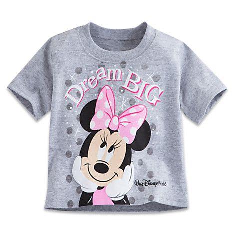 Minnie Mouse Heathered Tee For Baby Walt Disney World Disney