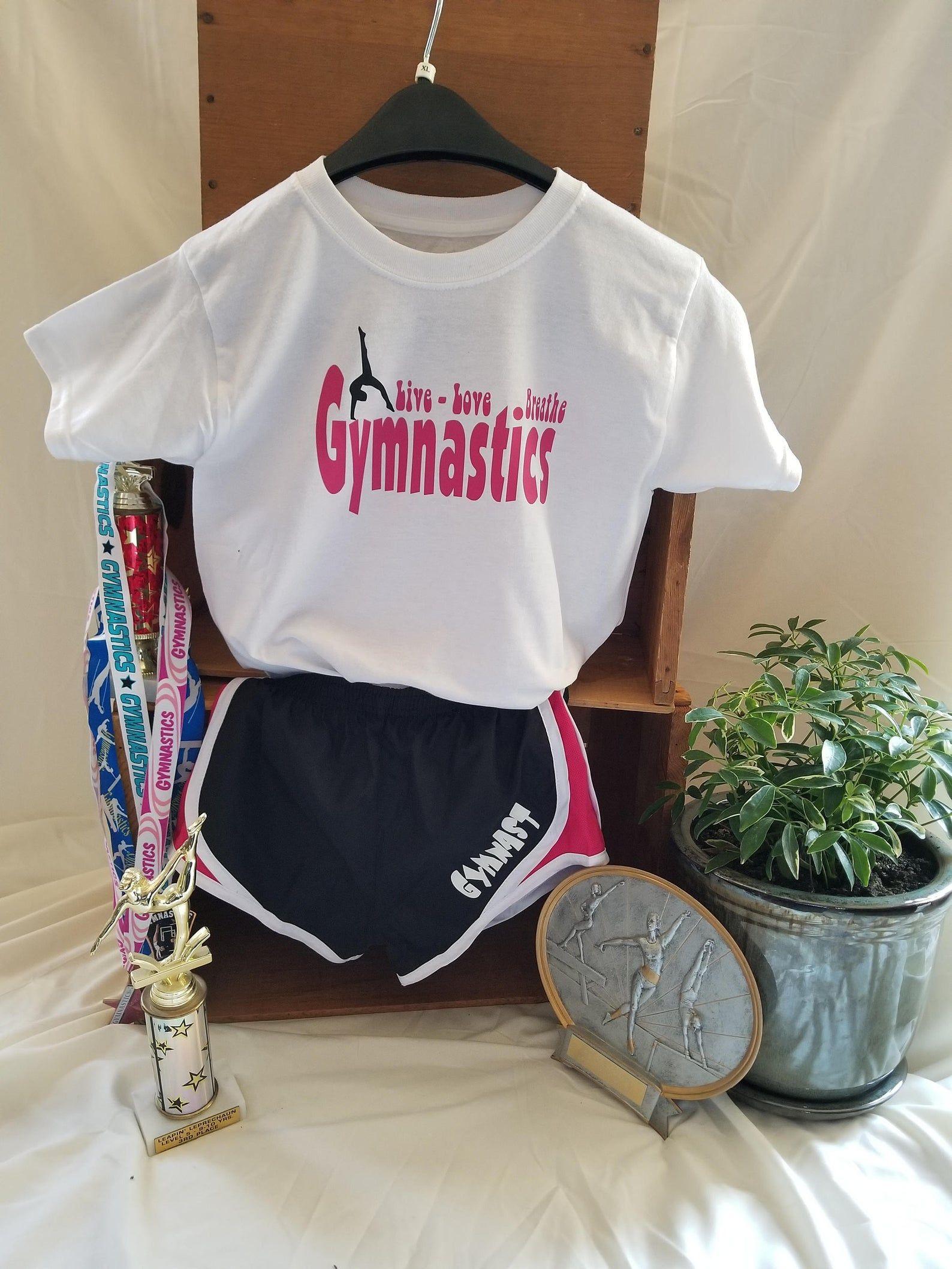 THIS IS MY CARTWHEEL Top  T-SHIRT Gymnastics Acrobat Funny Dance Leotard Gymnast