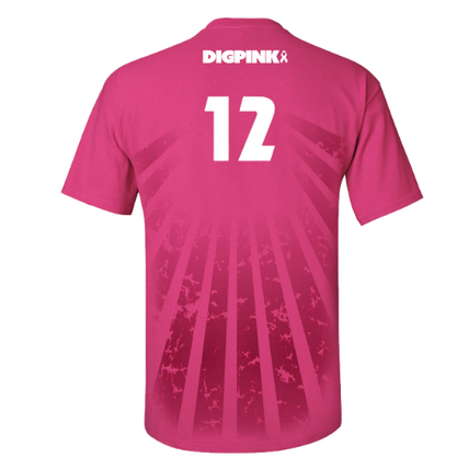 Do You Need Volleyball Team Jerseys For Your Next Big Match These Pink Sunburst Volleyball Jerseys May Be The Perfect Option For You And Your Team These Dig P