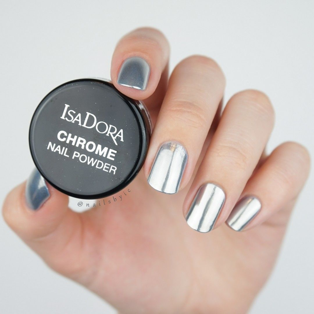 Create chrome nails at home using regular nail polish! Read about ...