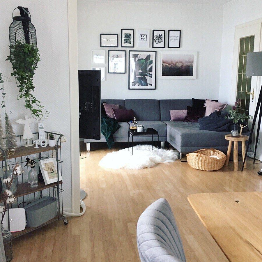 Blick ins Wohnzimmer #wanddekowohnzimmer