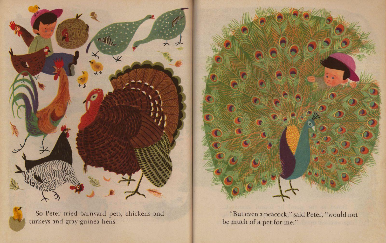 Pets for Peter. Illustrated by Aurelius Battaglia (1950) - 12