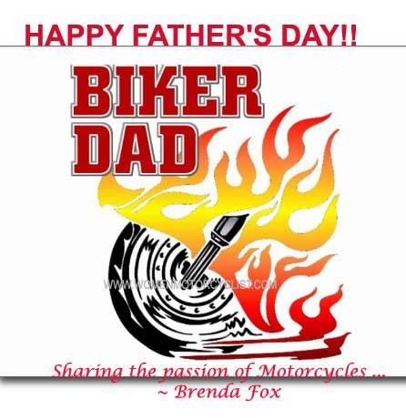 Happy Father S Day To All The Biker Dads Out There Bikers Make