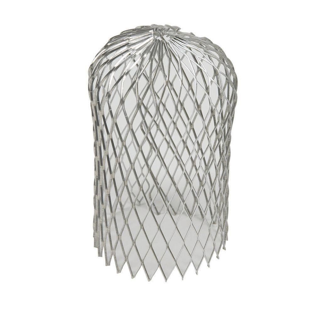 Amerimax home products 3 in aluminum leaf strainer21048