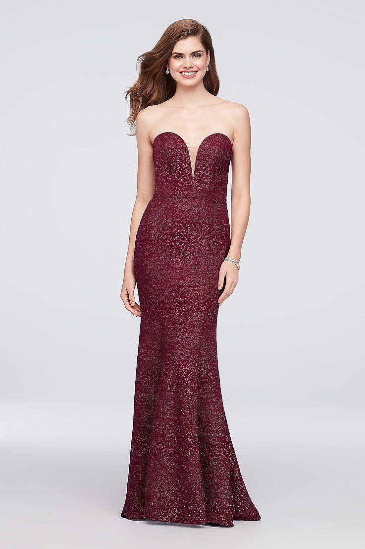 View Long Xscape Dress at David\'s Bridal | Formal dresses ...