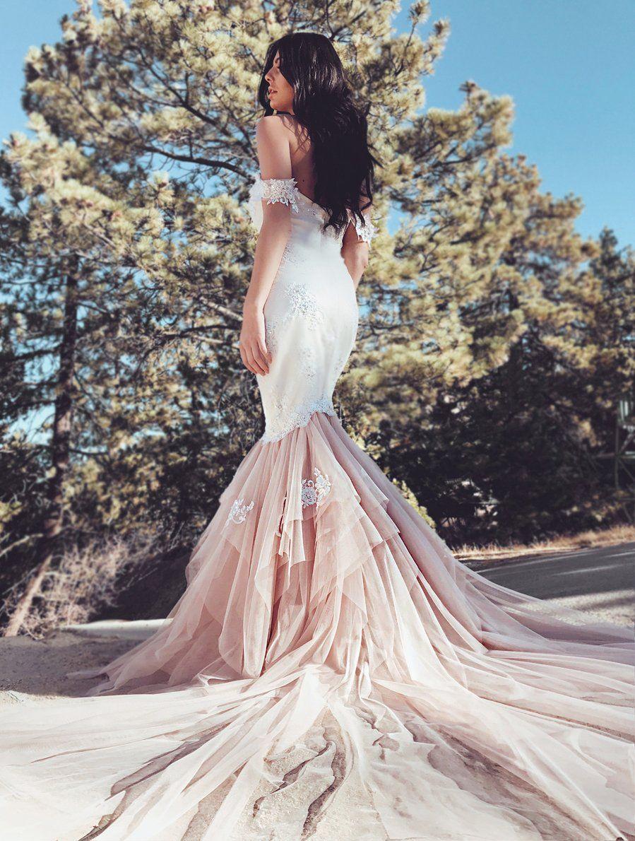 Wedding dresses cheap los angeles  Iridessa  Itus a Dream Dress  Pinterest  Lace cuffs Mermaid