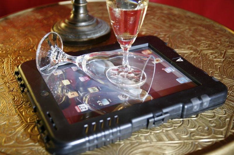 A nice tablet for romantic moods.