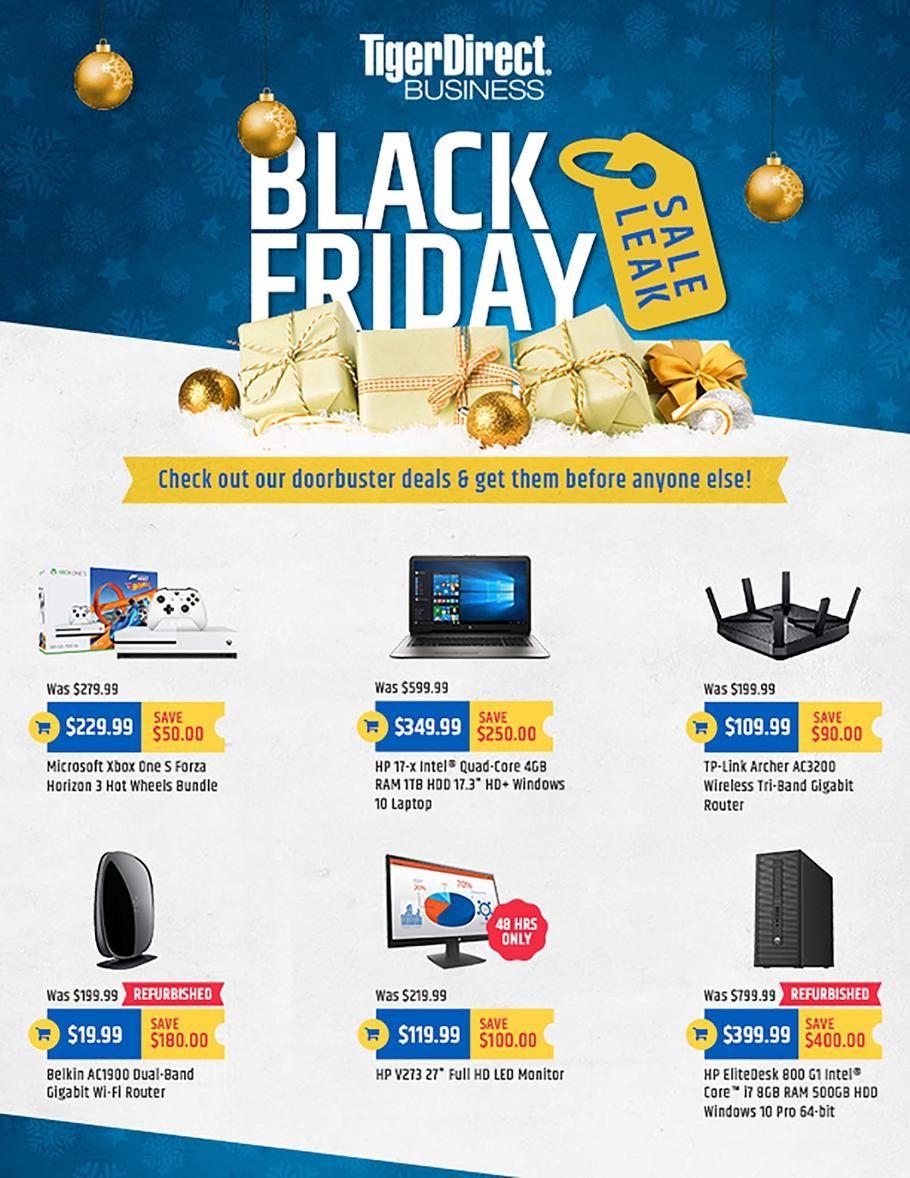 Tiger Direct Black Friday 2017 Ads and Deals Shop online for