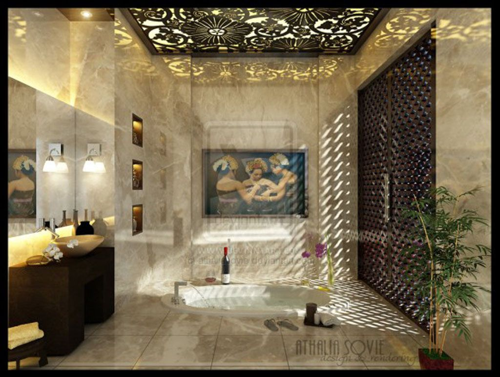 Pics On Luxurious Bathroom Design Elegant Decor Case And Then Kitchen With Contemporary Tone
