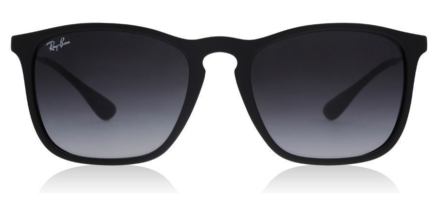 Ray Ban 4187 Chris Sunglasses 4187 Chris Matte Black Rb4187 54mm Uk Sunglasses Versace Eyeglasses Ray Bans