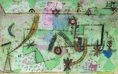 Paul Klee -In the Style of Bach ,1919