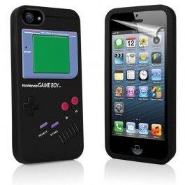iPhone 5 Gameboy Hoesje - Zwart gratis Bestellen! T.w.v. €16,95