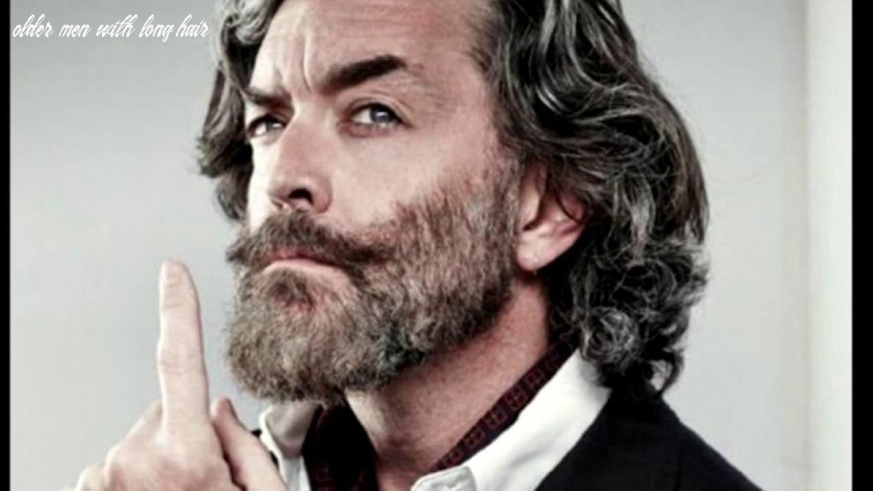 10 Older Men With Long Hair in 2020 Older mens