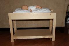 MADE: Pieces For Reese: Changing Table or bunk bed for ag doll. Tons of patterns.