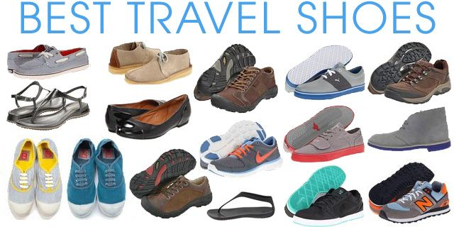 Travel shoes, Backpacking europe packing