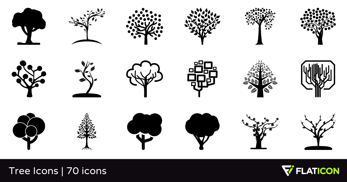 70 free vector icons of Tree Icons designed by Freepik