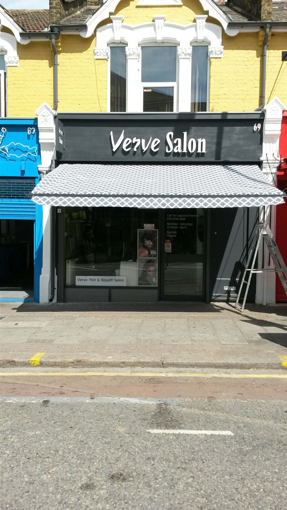 Two new shopfronts with Traditional Victorian Shop Awnings ...