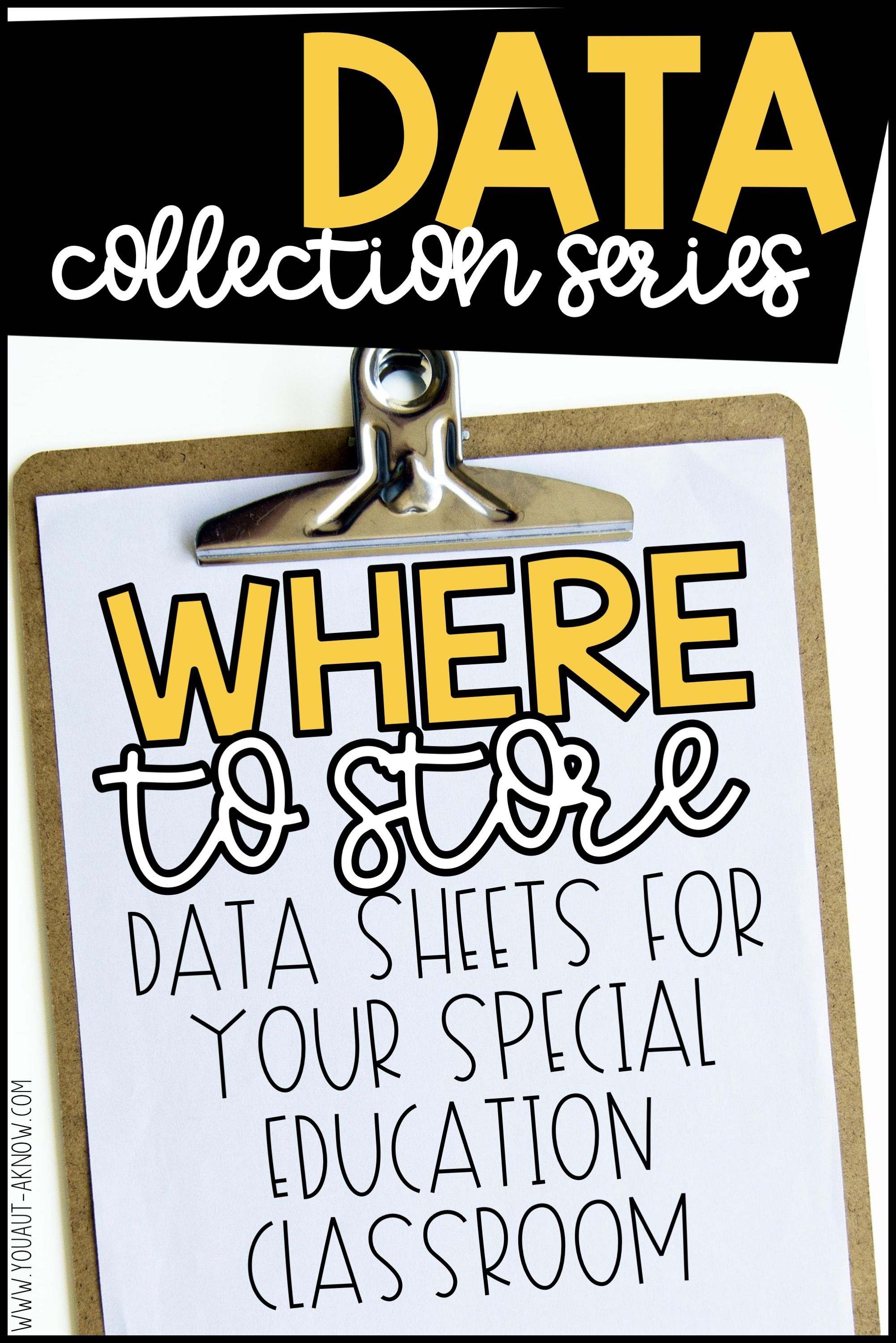 Data Collection Series Where Should I Keep Data Sheets