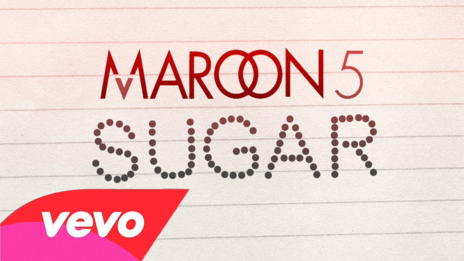This Song Makes My Heart Smile Maroon 5 Sugar Lyric Video