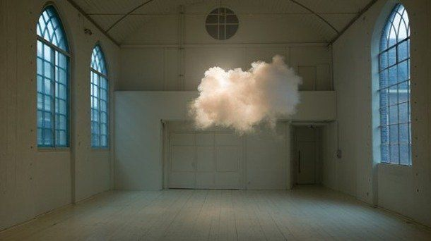 Indoor Clouds - Indoor Clouds - may seem impossible but in fact several artists have used various techniques of creating the ideal condition...