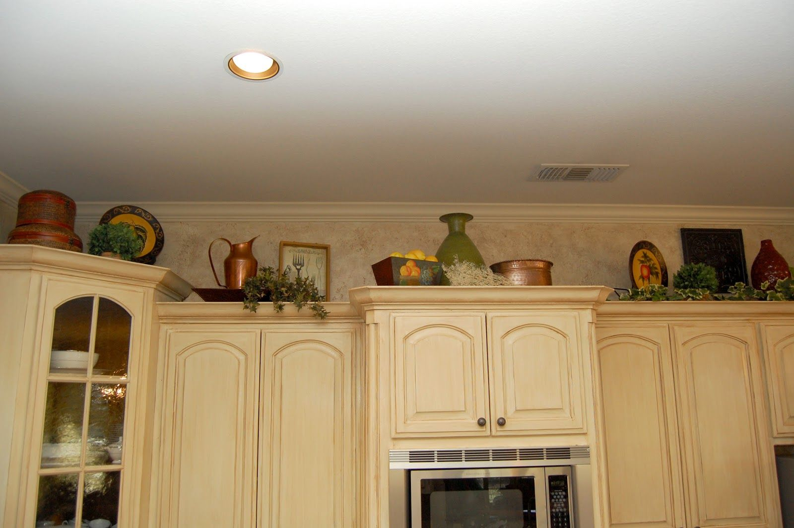 Styling Above Kitchen Cabinets Designs I Love In 2019