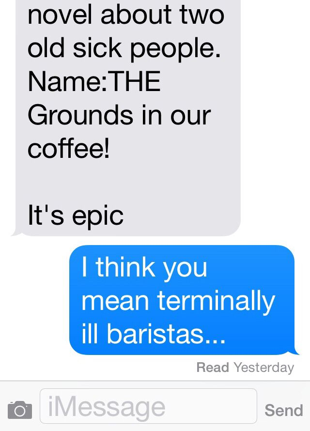 The Grounds in our Coffee