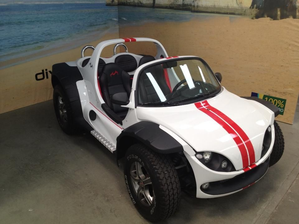 Super BUGGY the new Generation, made in Brazil with VW