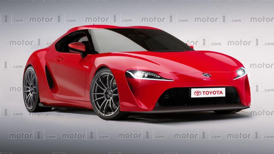 2018 Toyota Supra Render Toyota Supra Toyota Future Car