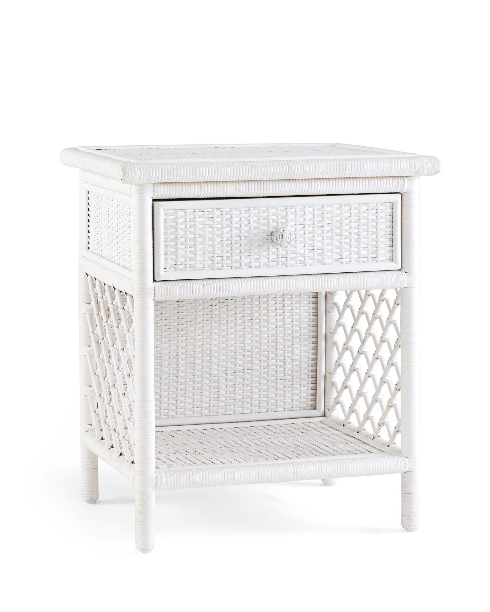 Natural Rattan Brings A Breezy Style To This Table It S A Great Way To Lighten Things Up While Keepi Living Room Side Table Side Coffee Table White Wash Table