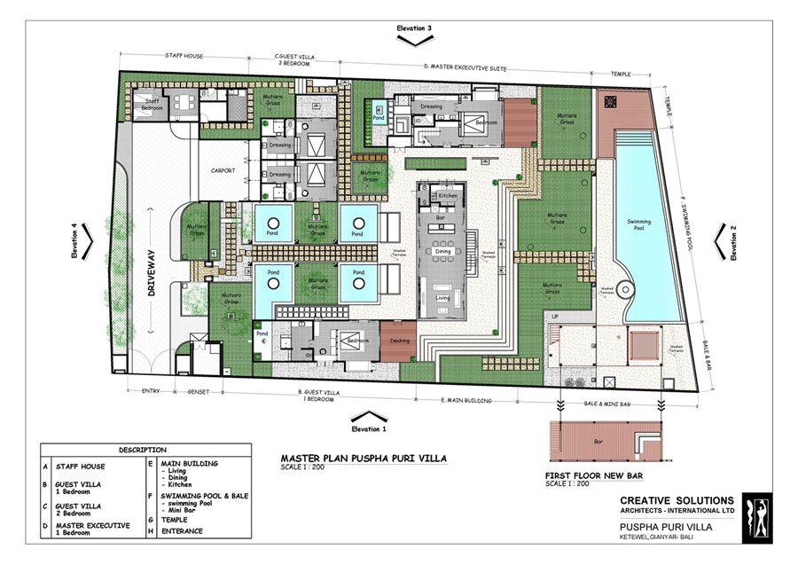 Architects Bali - Villa Puspha | Professional Architectur ...