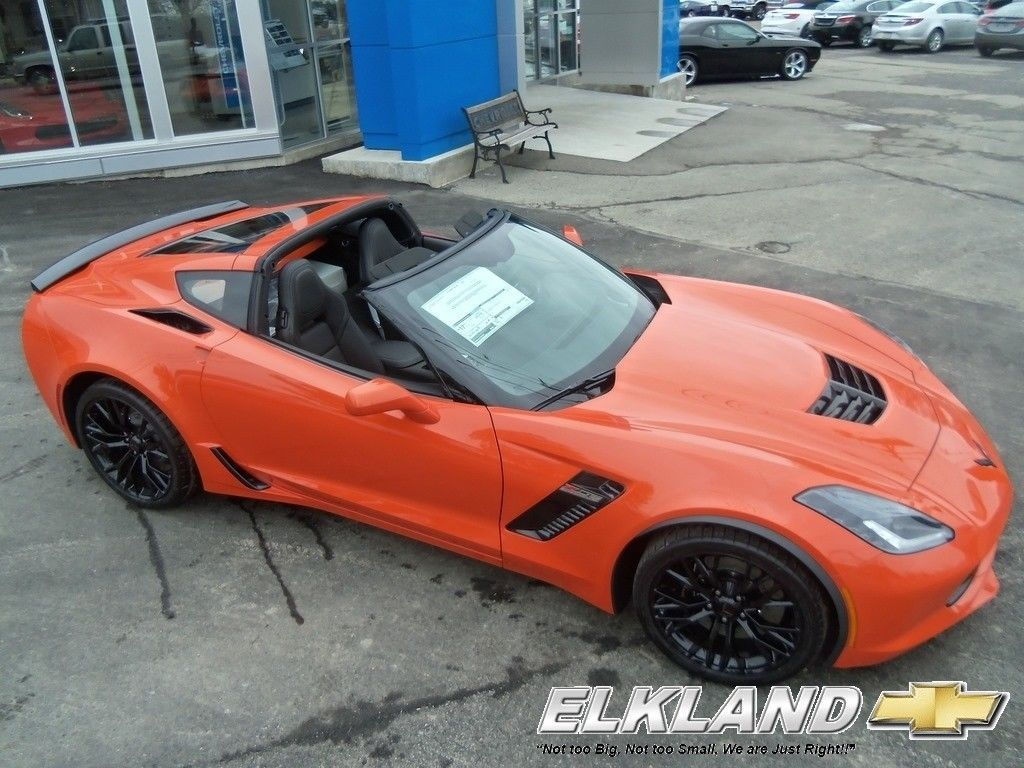 Chevrolet Corvette Z06 Sebring Orange Tintcoat Automatic Msrp