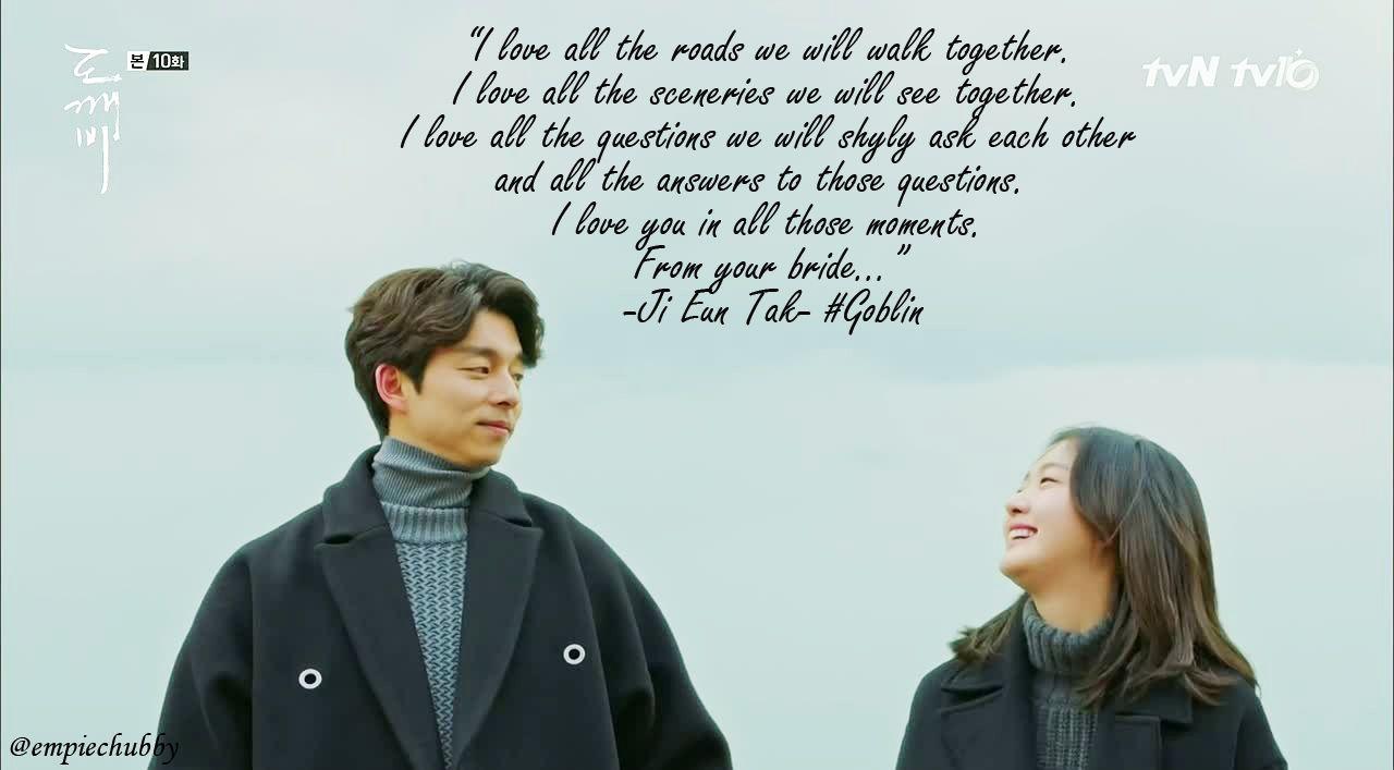 empiechubby.com: Korean Drama Quotes : Goblin Dokk