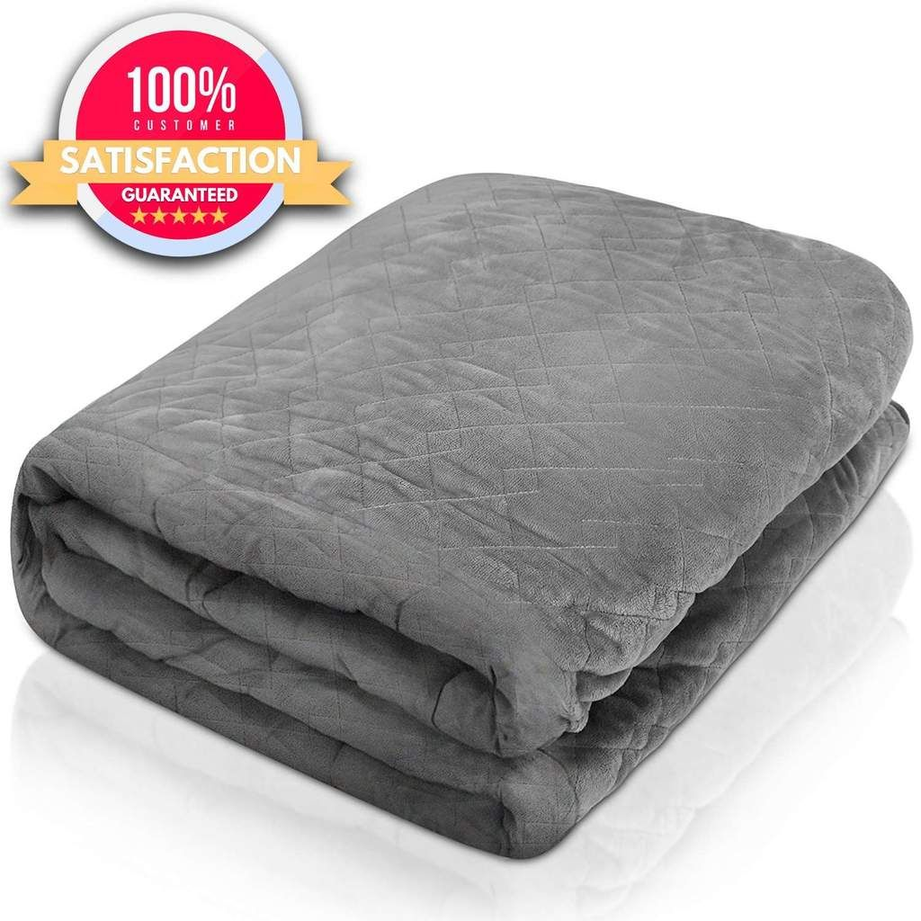 The Hush Classic Blanket With Duvet Cover Weighted