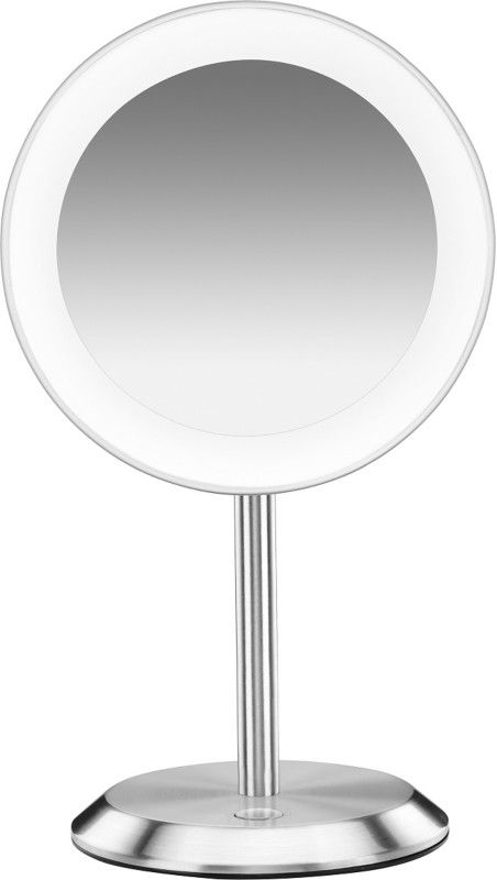 Awesome Conair Satin Chrome LED Vanity Magnifying Mirror For Your Home - Modern magnifying makeup mirror Pictures