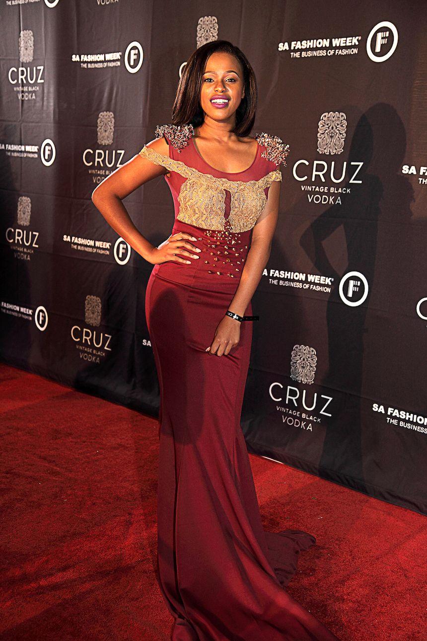 58f6087d8dd Natasha Thahane at the SA Fashion Week Opening Party. Click for more fashion .