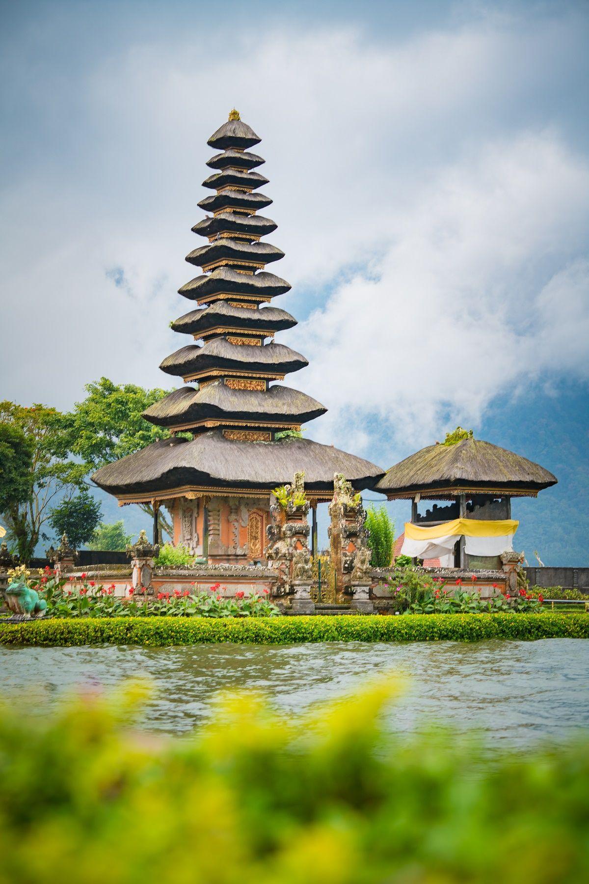Pura Ulun Danu Bratan Points Of Interest In 2020 Water Temple