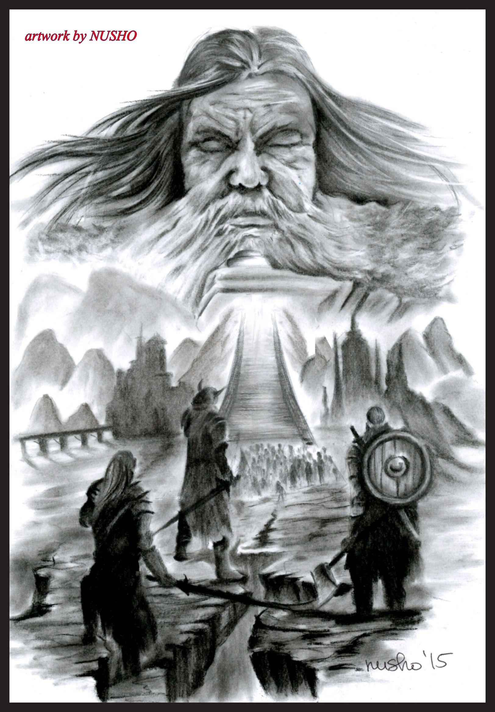 Valhalla Nordische Mythologie Wikinger Tattoo Wikinger Runen
