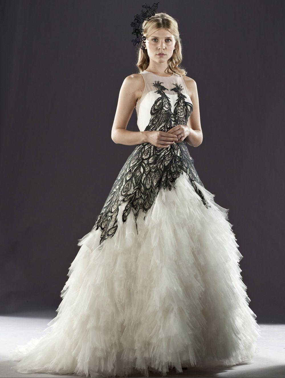 Fleur Delacour S Wedding Dress Harry Potter Hochzeitskleid Pfauenkleid Fleur Delacour