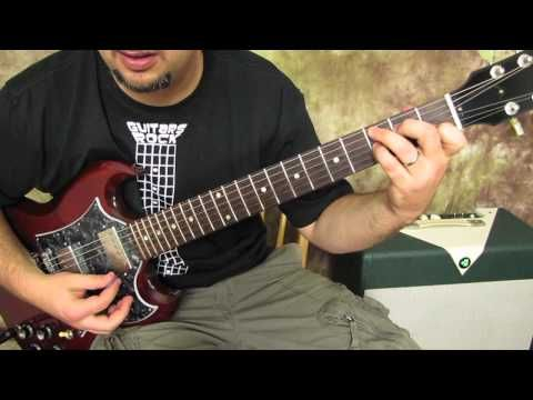 CCr - Suzie Q - Rock and Blues Guitar Lesson - How to Play on Guitar ...