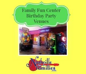 Family Fun Center Birthday Party Venues In Nashville And Middle Tennessee