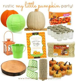 Taste{Full}: My Little Pumpkin Party Inspiration: Real Party, S...