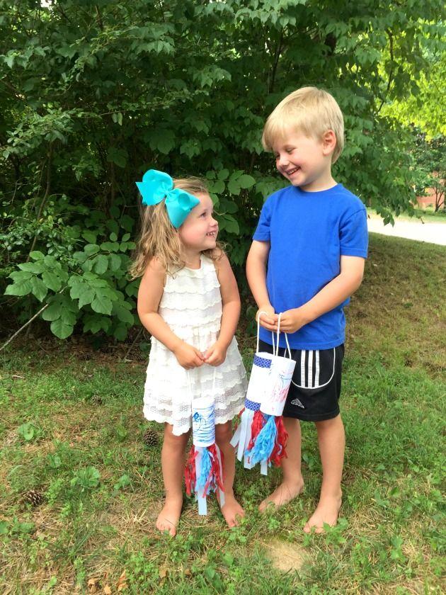 DIY Patriotic Windsock | Family Focus Blog
