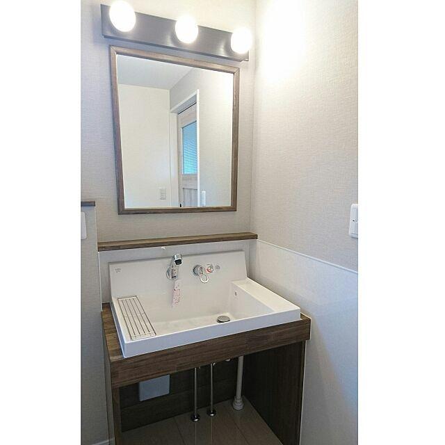 バス トイレ 洗面台 内覧会 オーデリック 造作洗面台 などの